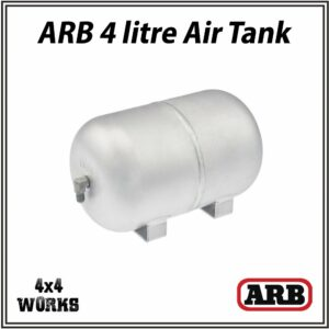 ARB 4 litre Aluminium Air Tank, 2-port