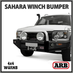 ARB Sahara Winch Bumper Bar Land Rover Discovery 2 2002-05 With Tube