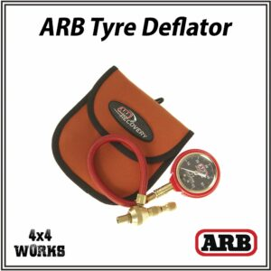 ARB E-Z Tyre Deflator and Pouch