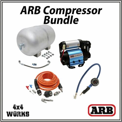 ARB High Output Compressor and Air Tank Kit Bundle 12v