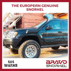 Bravo Snorkel Kit Jeep Grand Cherokee WJ 1999-04