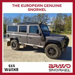 Bravo Snorkel Kit Land Rover Defender TD4/TD5 1999-16