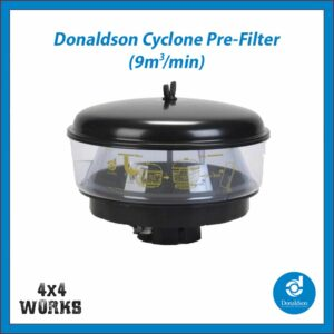 "Donaldson Cyclone Head Snorkel Pre-filter 3"" 77mm High Flow"