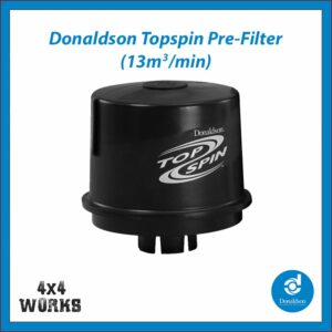 "Donaldson Topspin Cyclone Head Snorkel Pre-filter 3"" 77mm High Flow"