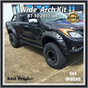 Kut Snake Wheel Arches Mazda BT-50 2011-on Wide 95mm Fender Flares