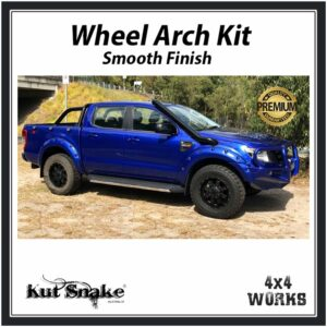 Kut Snake Wheel Arches Ford Ranger PX/PX2/PX3 2011-on Smooth 58mm Fender Flares