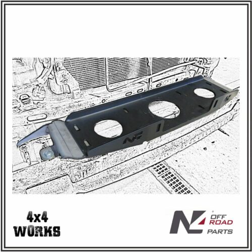 N4 Hidden Winch Mount Plate Renault Alaskan 2017-on