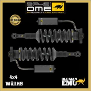 "Old Man Emu OME BP-51 Bypass Shock Absorbers Ford Ranger PX3 2019-on - 2"" 50mm Front Pair"