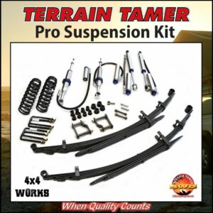 Terrain Tamer Suspension Pro Kit Ford Ranger PX1 PX2 2011-19