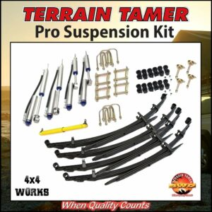 Terrain Tamer Suspension Pro Kit Toyota Land Cruiser HZJ77 1990-on