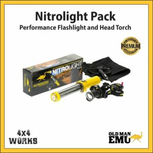 Old Man Emu Nitrolight Flash Light & Head Torch Kit