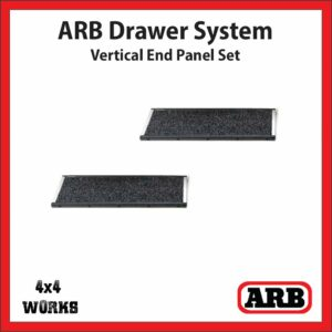 ARB Outback Drawer System Vertical End Panel Set RDVEP500