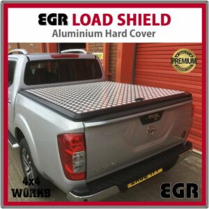 EGR Load Shield Aluminium Tonneau Cover Lid Nissan Navara D23 NP300 2015-on