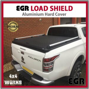 EGR Load Shield Aluminium Tonneau Cover Lid Fiat Fullback 2016-on