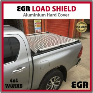 EGR Load Shield Aluminium Tonneau Cover Lid Toyota Hilux 2015-on