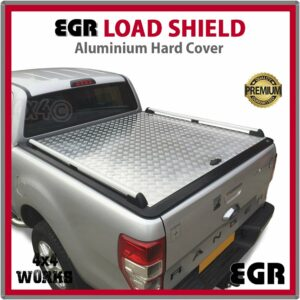 EGR Load Shield Aluminium Tonneau Cover Lid Ford Ranger PX PX2 PX3 2011-on