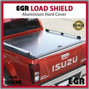 EGR Load Shield Aluminium Tonneau Cover Lid Isuzu D-Max 2012-on