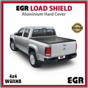EGR Load Shield Aluminium Tonneau Cover Lid Volkswagen VW Amarok 2012-on