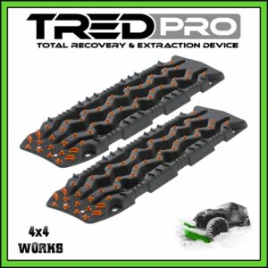 TRED Pro Recovery Boards Grey-Orange