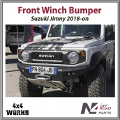 N4 Front Winch Bumper Suzuki Jimny 2018-on