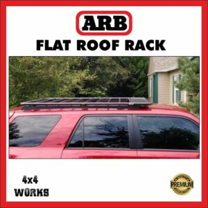 ARB Roof Rack Suzuki Jimny 2018-on Flat Rack 1330x1250mm