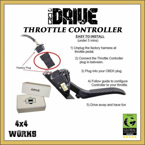 iDrive EVC Throttle Controller Accelerator Booster