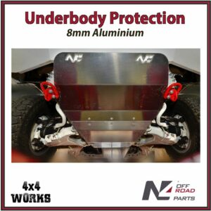 N4 Skid Plate Underbody Protection Toyota Land Cruiser 200 Series VDJ 2007-on With N4 Bumper Front Bash Guard
