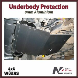 N4 Skid Plate Underbody Protection Nissan Terrano II 1993-02 Front Bash Guard