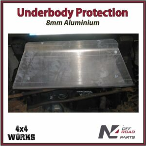 N4 Skid Plate Underbody Protection Land Rover Defender 1990-16 Front Bash Guard