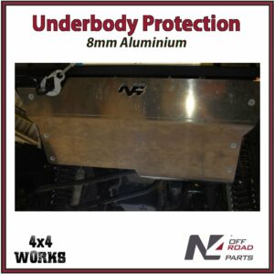 N4 Skid Plate Underbody Protection Jeep Wrangler JK 2007-18 LHD Only Front Bash Guard