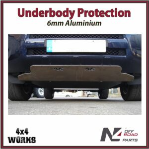 N4 Skid Plate Underbody Protection Toyota RAV4 2006-10 Front Bash Guard