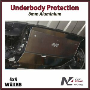N4 Skid Plate Underbody Protection Volkswagen Amarok VW 2010-on Front Bash Guard