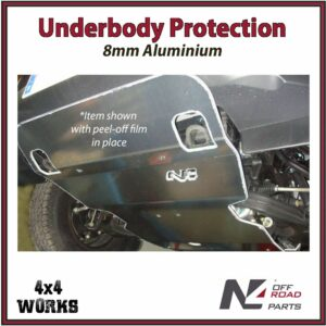 N4 Skid Plate Underbody Protection Isuzu D-Max 2012-20 Front Bash Guard