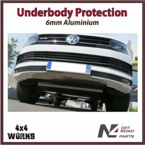 N4 Skid Plate Underbody Protection Volkswagen Transporter T6 2016-on Front Bash Guard