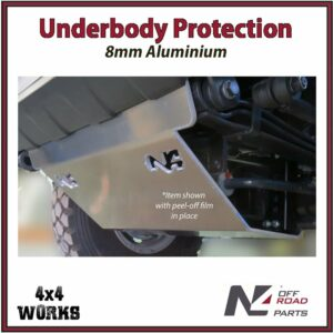 N4 Skid Plate Underbody Protection Iveco Daily III 4x4 2014-19 Front Bash Guard