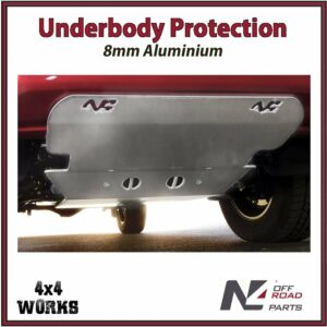 N4 Skid Plate Underbody Protection Toyota Hilux 2018-on Revo Type 1 Front Bash Guard