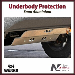 N4 Skid Plate Underbody Protection Toyota Hilux 2015-on Revo Type 3 Front Bash Guard