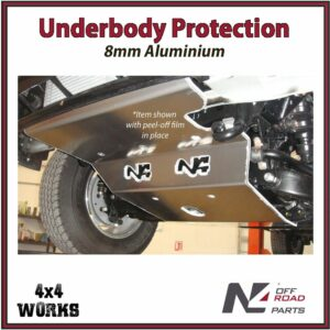 N4 Skid Plate Underbody Protection Mazda BT-50 2006-11 Front Bash Guard