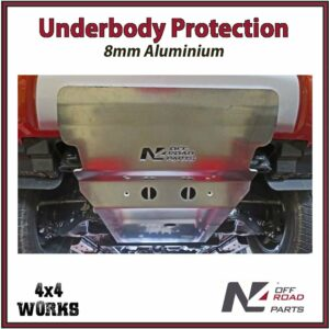 N4 Skid Plate Underbody Protection Toyota Hilux 2018-on Revo Type 2 Front Bash Guard