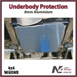 N4 Skid Plate Underbody Protection Land Rover Defender 90 1990-16 TD5 Transfer Box Bash Guard