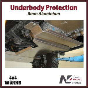 N4 Skid Plate Underbody Protection Toyota FJ Cruiser 2006-on Gearbox - Transfer Box Bash Guard