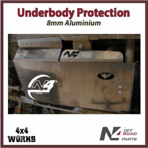 N4 Skid Plate Underbody Protection Iveco Massif 2007-11 Gearbox - Transfer Box Bash Guard