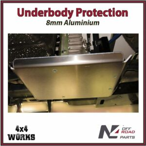 N4 Skid Plate Underbody Protection Iveco Daily III 4x4 2014-20 Transfer Box Bash Guard