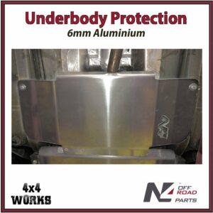 N4 Skid Plate Underbody Protection Volkswagen Caddy 2015-on Catalytic Converter Bash Guard