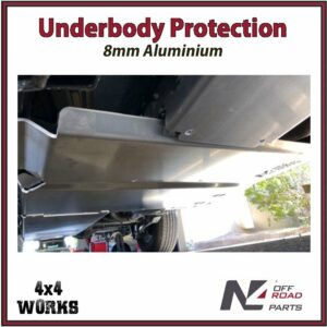 N4 Skid Plate Underbody Protection Jeep Wrangler JL 2018-on LWB Only Transfer Box Bash Guard