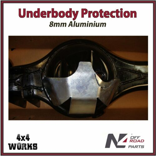 N4 Skid Plate Underbody Protection Universal Differential Diff Guard to Weld On Differential Bash Guard