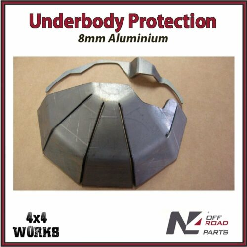 N4 Skid Plate Underbody Protection Toyota Land Cruiser HZJ70 78 79 Weld On Differential Bash Guard