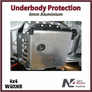 N4 Skid Plate Underbody Protection Jeep Wrangler JK 2007-18 Auto Models Sump Bash Guard