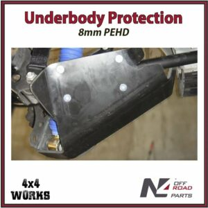 N4 Skid Plate Underbody Protection Toyota Land Cruiser 200 Series VDJ 2007-on Shock Absorbers Bash Guard