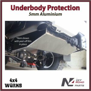 N4 Skid Plate Underbody Protection Toyota Land Cruiser 200 Series VDJ 2007-on Secondary Tank Bash Guard